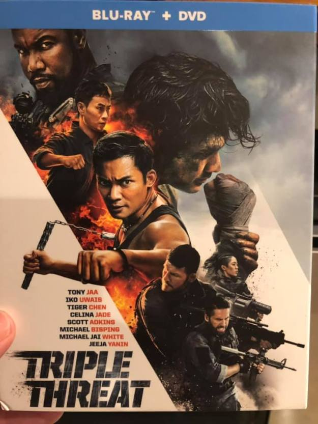 Triple Threat BluRay